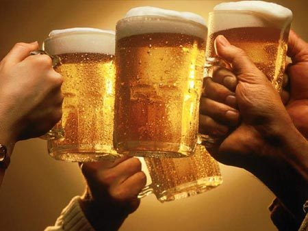 beer toast1 Alcohol Related Disorders