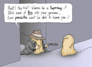 antibiotic resistance cartoon