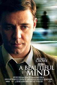 Russel crowe as John Nash