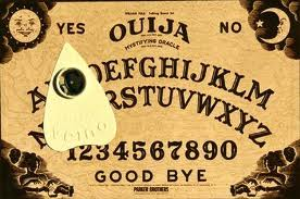 The Ouija Board with Planchette