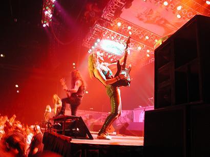 Janick Jers live guitar