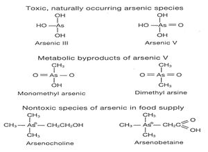 arsenic molecular Arsenic Poisoning