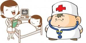 cartoon-doctor-nurse-patient