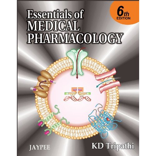 K D tripathi pharmacology book
