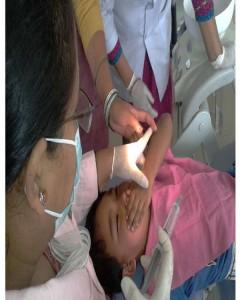 dental procedure in child