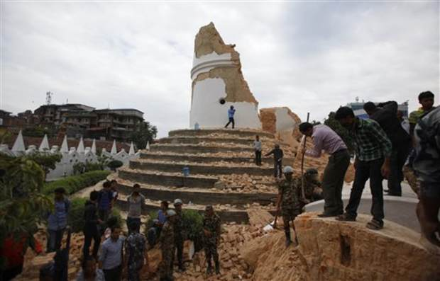 earthquake dharahara