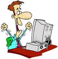 cartoon_happy_man_with_computer