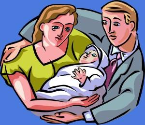 family-clipart-FamilyDayWithBabyy