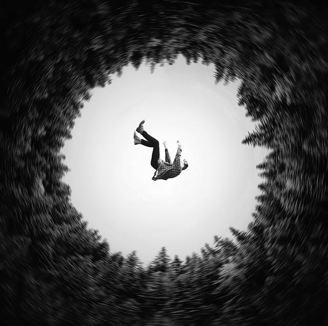 falling suicide